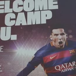 Obóz piłkarski w Hiszpanii.