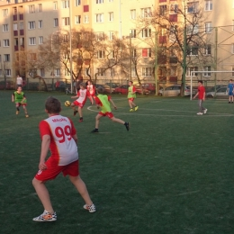 Pierwszy trening na boisku Orłów 2015