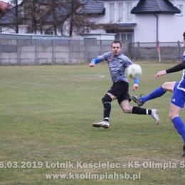 16.03.2019 Lotnik Kościelec - KS Olimpia 5-0