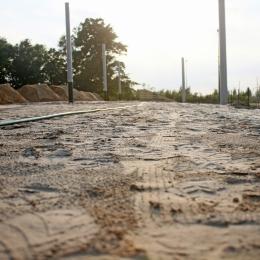 Budowa trybuny (08.08.18)