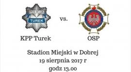 Towarzyski mecz służb mundurowych. Dobra 2017.