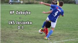 KP Zabajka - LKS Jasionka 0-1