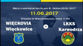 Więckovia Więckowice vs LKKS Karwodrza
