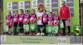 Duży sukces dziewczynek kat. U-10 w turnieju Tymbarku