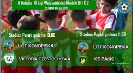 Dwa mecze na Pająku.