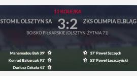 Porażka w Olsztynie