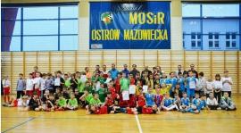 IV i VII miejsce rocznika 2005 na turnieju o Puchar Burmistrza Ostrowi Mazowieckiej