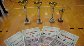 II Turniej Juniorów Młodszych w halowej piłce nożnej