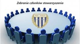 Zebranie członków stowarzyszenia.