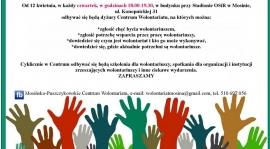 Centrum wolontariatu - zaproszenie