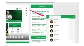 Komunikuj się z innymi na Futbolowo.pl!