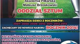 AP SZTUM - nabór 2014 rocznika!
