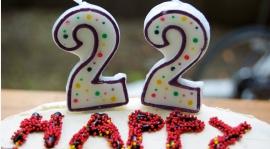 22 urodziny Kwiatka