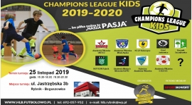 """""""Champions League KIDS 2019-2020""""  - rocznik 2010.... już wkrótce startujemy"""