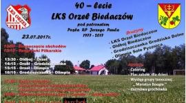 """40-lecie klubu LKS """"Orzeł"""" Biedaczów"""