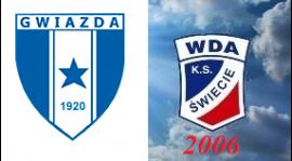 """Liga okręgowa młodzika 5 kolekja """"GWIAZDA"""" Bydgoszcz - K.S. WDA Świecie 2006 2:0"""