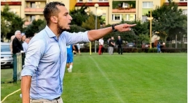 Trener Wierzbicki po meczu Odra - Dąb