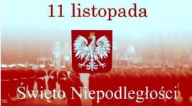 11 listopada Dzień Niepodległości  Świętujemy!!!!!