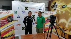 Wywiad po meczu Wartą Zawiercie z Sebastianem Sarzałą