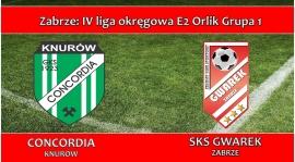 E2 ORLIK I MKS Concordia Knurów - SKS GWAREK ZABRZE 3:10