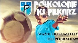 Półkolonie KS Piłkarz - dokumenty do pobrania!