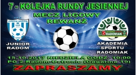 Już w niedzielę 7 kolejka meczy ligowych - Rewanż