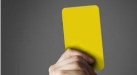 Komunikat Komisji Dyscypliny po IV Kolejce Żuławskiej Halowej Ligi Piłki Nożnej