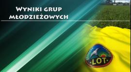 Wyniki grup młodzieżowych /11-14 września/