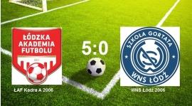 ŁAF Kadra A vs WNS Łódź 5:0