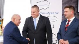 Nagroda burmistrza dla klubu sportowego Orzeł Myślenice - dziękujemy!
