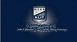 1. Kolejka A-Klasy Alit II Ożarów 2 - 4 Wisła Nowy Korczyn