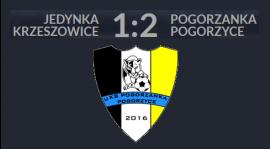 Jedynka Krzeszowice : UKS Pogorzanka Pogorzyce 1:2