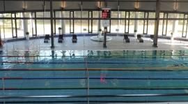 Trening na basenie Młodzika i Orlika Starszego