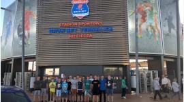Juniorzy oraz Juniorzy Młodsi na meczu Ekstraklasy w Niecieczy