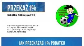 WESPRZYJ MŁODYCH PIŁKARZY - PRZEKAŻ 1% PODATKU !!!