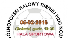 Halowy Turniej Piłki Nożnej Trampkarzy Straszych (Plakat w rozwinięciu)