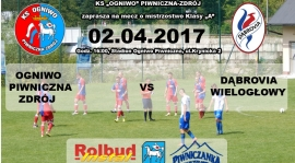 Mecz A klasy Ogniwo Piwniczna-Zdrój - Dąbrovia Wielogłowy