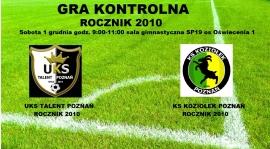 SOBOTA 1 GRUDNIA SPARING ROCZNIK 2010