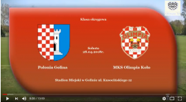 SENIORZY: Polonia Golina - MKS Olimpia Koło 28.04.2018 [VIDEO]