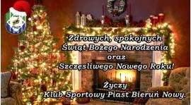 Wesołych Świąt od całego zarządu KS Piast...