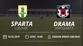 """Sparing I Drużyny LKS """"Sparta"""" Lubliniec"""