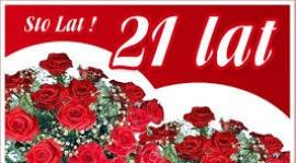 21-ste urodziny Radka