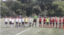 Mecz ligowy UKS Okęcie 2009A.