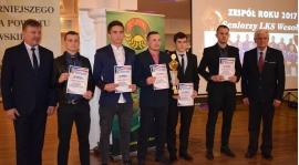 Zespół Roku 2017 - XVIII Plebistyt Na Najpopulrniejszego Sportowca Powiatu Brzozowskiego