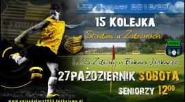 Zapowiedź 15 Kolejki: LZS Zdziary - Bukowa Jastkowice.