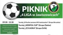 Piknik IV Liga w Jawiszowicach.[Relacje foto, video, wyniki]