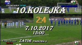 10 kolejka V Ligi Chrzanowskiej 10 zwycięstwo LKS Jawiszowice