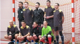 Okręgowe Zawody w Piłkę Halową w Złotowie