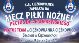 Mecz PECTUS Team - CIĘŻKOWIANKA dla Paderewskiego !