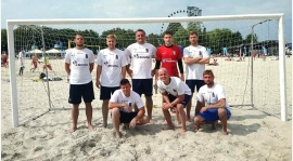 Futsalowcy na plaży
